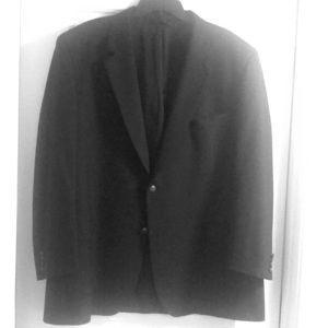 Jos. A. Bank Men's Black Sports Coat 48R